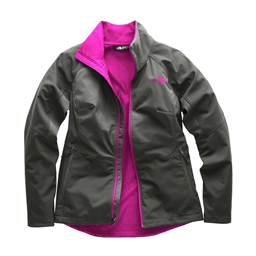 TNF Piedra Soft Shell Jacket Women's Asphalt Grey/Atomic