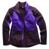 TNF Piedra Soft Shell Jacket Women's Galaxy Purple/D.Blue