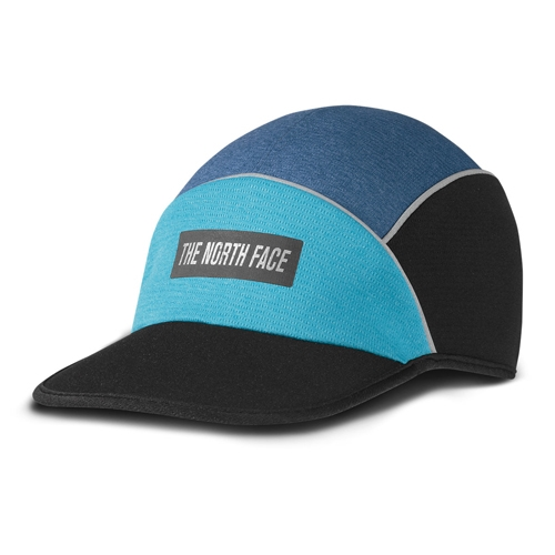 TNF Pop-Up Run Hat Unisex Shady Blue Heather