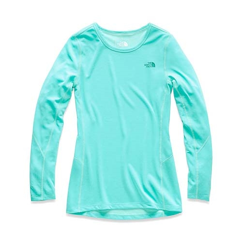 TNF Presta LS Crew Women's Mint Blue Heather