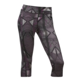 TNF Pulse Capri Tight Women's Black Print