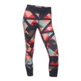 TNF Pulse Mid-Rise Crop Women's Urban Navy Print