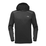 TNF Reactor Hoodie Men's Dark Grey Heather