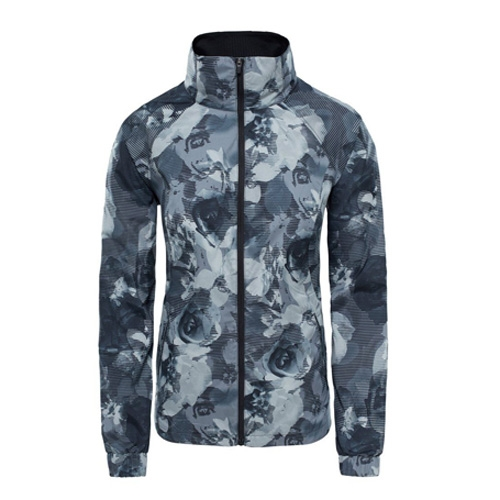 TNF Reactor Jacket Women's TNF Black Print