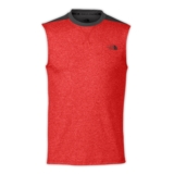 TNF Reactor Tank Men's Pompeian Red Heather