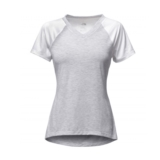 TNF Reactor V-Neck S/S Women's TNF White