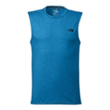 TNF Reaxion Amp S/L Tee Men's Hyper Blue Heather