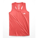 TNF Reaxion Amp Tank Women's Spiced Coral/White