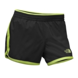 TNF Reflex Core Short Women's Black/Wild Lime