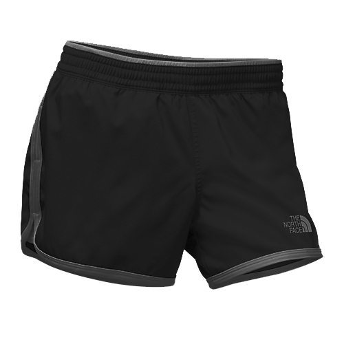 TNF Reflex Core Short Women's Black Asphalt Grey