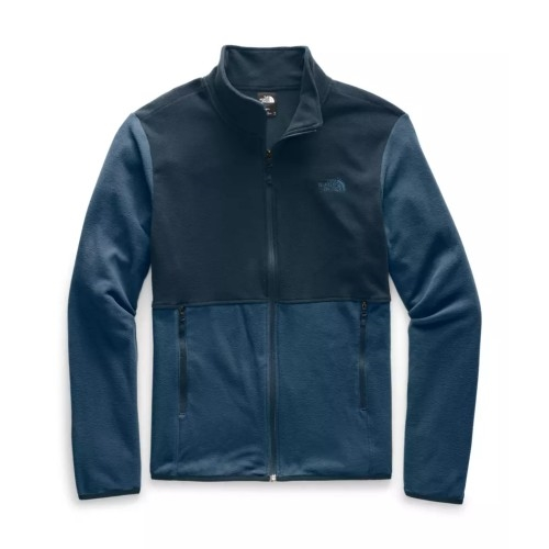 TNF TKA Glacier Full Zip JKT Men's Blue Wing Teal/Navy