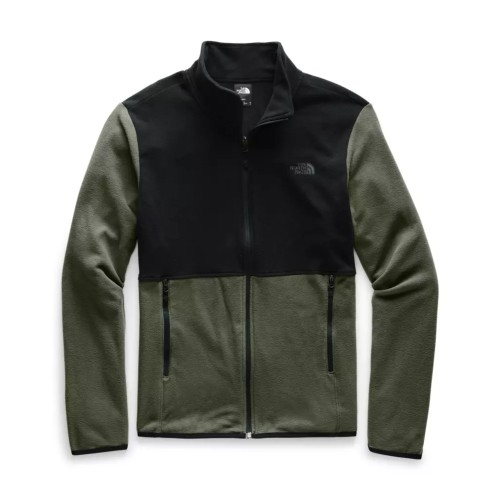 TNF TKA Glacier Full Zip JKT Men's New Taupe Green/TNF BLK