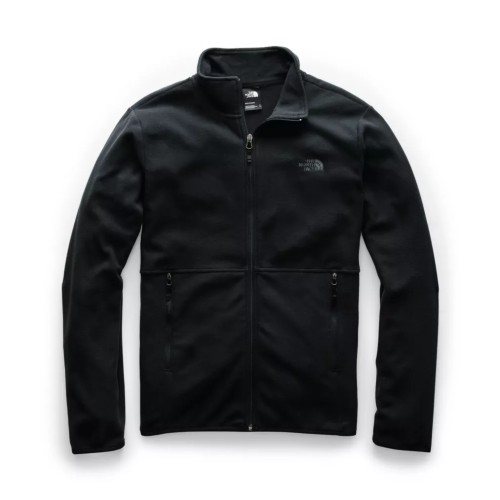 TNF TKA Glacier Full Zip JKT Men's TNF Black/TNF Black