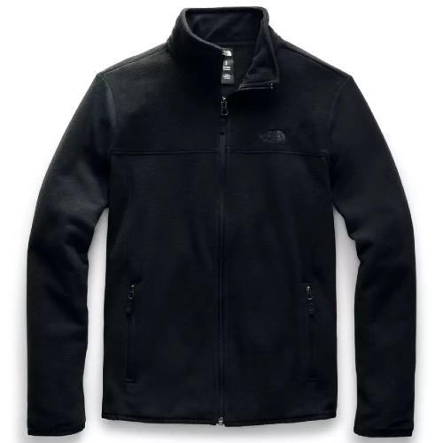 TNF TKA Glacier Full Zip JKT Women's TNF Black/TNF Black