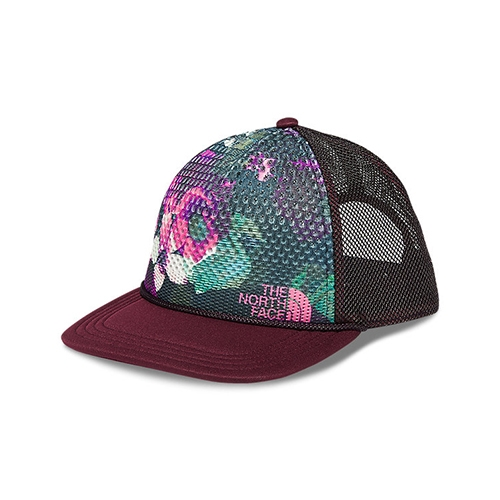 TNF Trail Trucker Women's Galaxy Purple Print