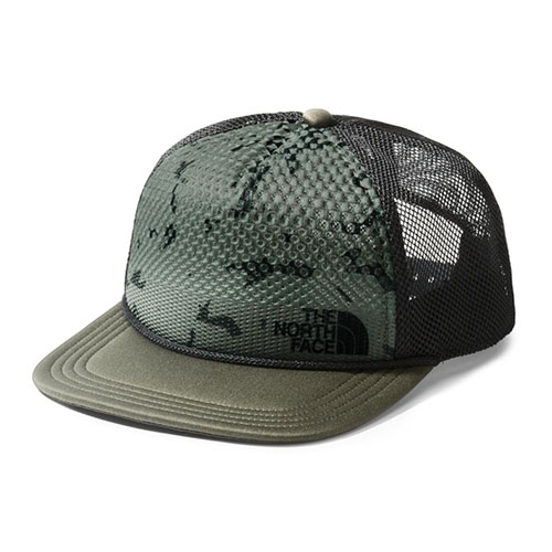 TNF Trail Trucker Unisex New Taupe Green Print