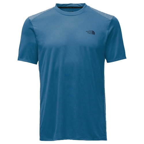 TNF Versitas S/S Crew Men's Shady Blue - The North Face Style # NF0A2V3N.HDC S17