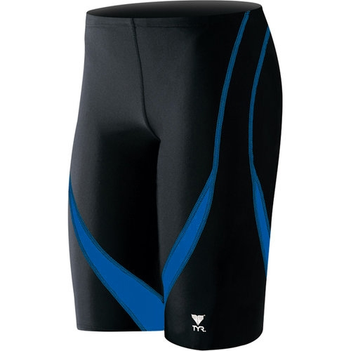 TYR Alliance Splice Jammer Men's Black/Indigo