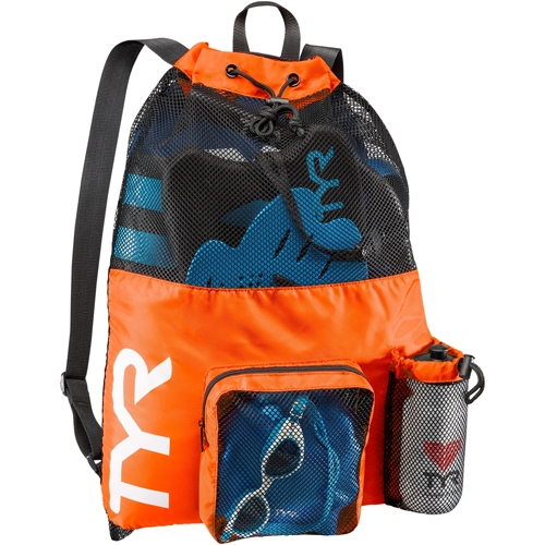 TYR Big Mesh Mummy Backpack Orange