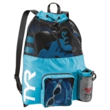 TYR Big Mesh Mummy Backpack Blue