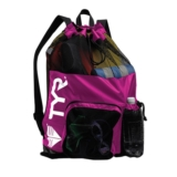 TYR Big Mesh Mummy Bag Pink