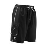 TYR Boys Challenger Boardshort Youth Black/White