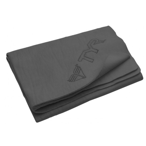 "TYR Dry Off Sport Chamois (L) Charcoal 26"" X 17"""