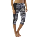 TYR Emerald Lake Capri Women's Black/Grey