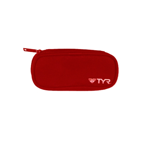 TYR Goggles Case Red