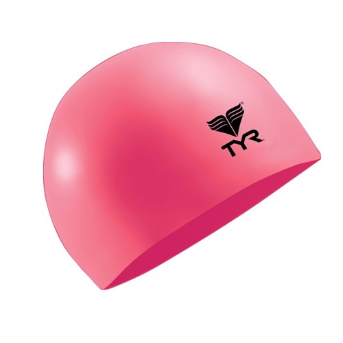 TYR Latex Swim Cap Pink