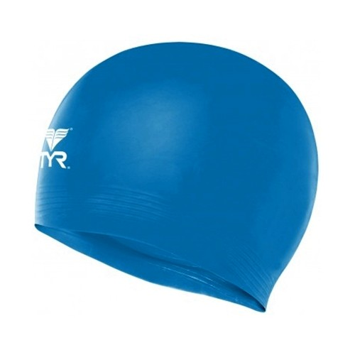 TYR Latex Swim Cap Royal