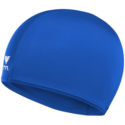 TYR Lycra Youth Swim Cap Royal