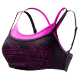 TYR Mesh Paired Up Bra Women's Black/Pink