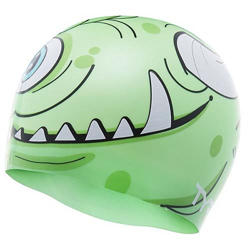 TYR Monster Cap Kids Green