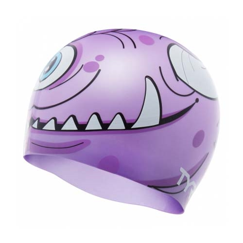 TYR Monster Cap Kids Purple