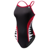 TYR Shark Bite Diamondfit Women's Red