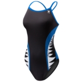 TYR Shark Bite Diamondfit Women's Black/Blue