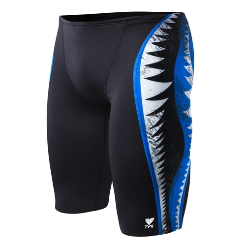 TYR Shark Bite Jammer Men's Black/Blue