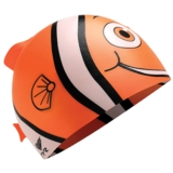 TYR Silicone Happy Fish Cap Orange