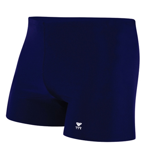 TYR Solid Square Leg Men's Navy