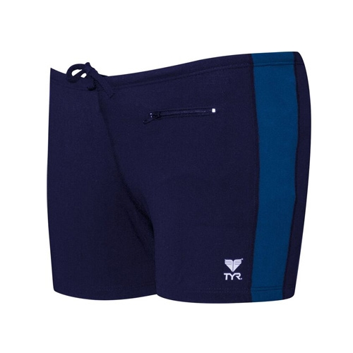 TYR Square Leg W/Zip Pocket Men's Navy/Harward