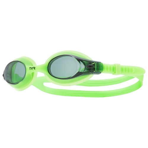 TYR Swimple Goggles Unisex Smoke/Green