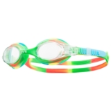 TYR Swimple Tie-Dye Goggles Kids Unisex Green/Orange
