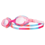 TYR Swimple Tie-Dye Goggles Kids Unisex Pink/White