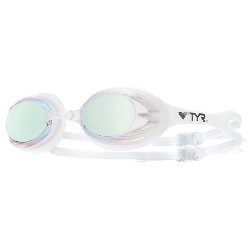 TYR T-72 Ellipse Metallized Women's Mirrored Clear