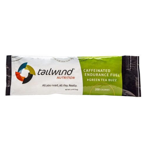 Tailwind Caffeinated Endurance Green Tea Buzz Single