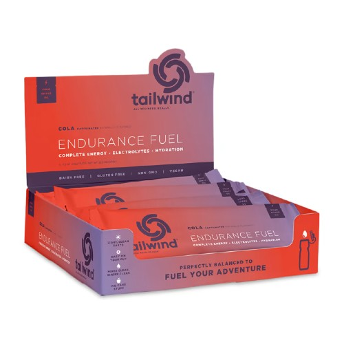 Tailwind Caffeinated Endurance Colorado Cola 12 Pack