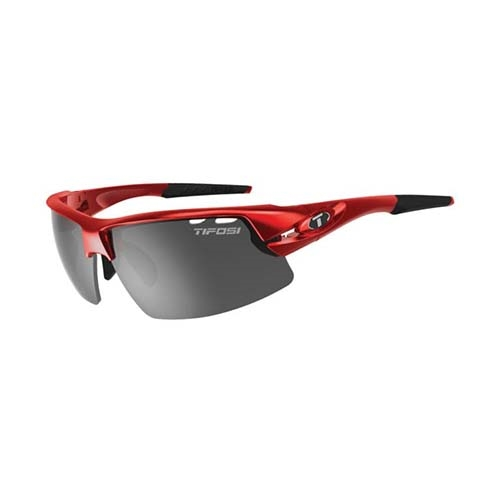 Tifosi Crit Metallic Red 3 Interchangeable Lenses