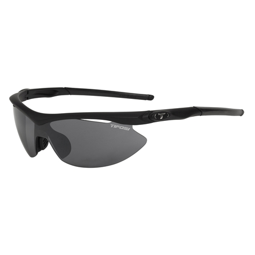 Tifosi Slip Matte Black 3 Interchangeable Lenses
