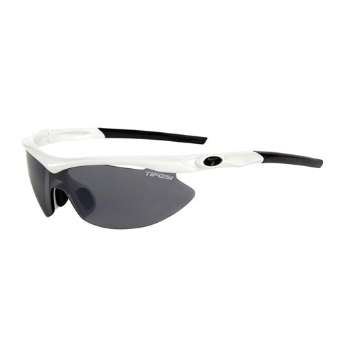 Tifosi Slip Pearl White 3 Interchangeable Lenses